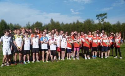 Fun at the Cross Country Run 28 Sep 13