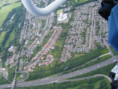 Juniper Green from the air (1)