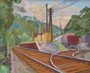 Juniper Green Railway Station in 2nd World War