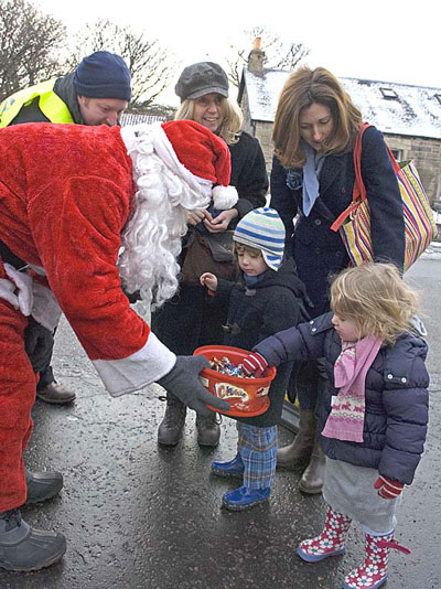 Santa at Farmers Market