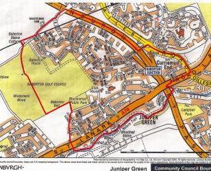 Map of JGCC area